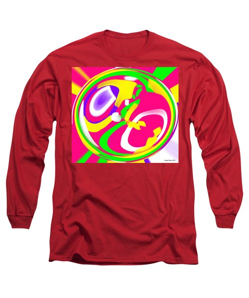 Long Sleeve T-Shirt featuring the digital art Color Roundup by George Pedro