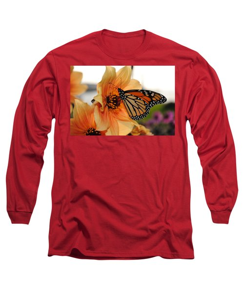 Long Sleeve T-Shirt featuring the photograph Colors In Sync by Michael Frank Jr