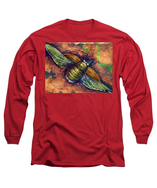 Copper Beetle Long Sleeve T-Shirt