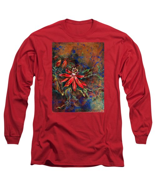 Copper Passions Long Sleeve T-Shirt by Ashley Kujan