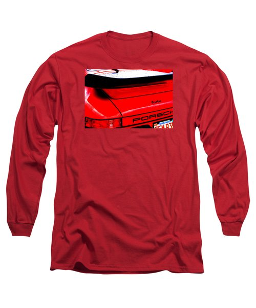 Long Sleeve T-Shirt featuring the photograph Dead Red Turbo by John Schneider