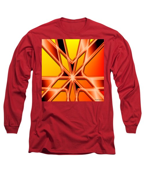 Long Sleeve T-Shirt featuring the digital art Deep Thought by George Pedro