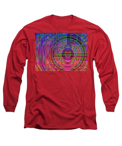 Long Sleeve T-Shirt featuring the digital art Digets by David Pantuso