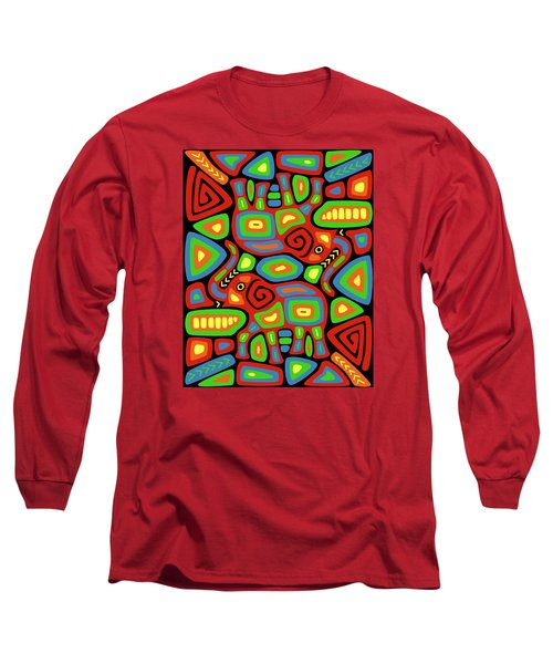 Elephant Mola Long Sleeve T-Shirt