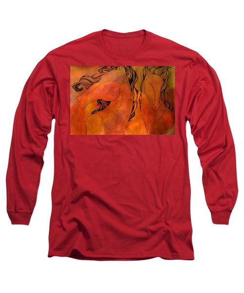 En Gallop Long Sleeve T-Shirt by Sheridan Furrer