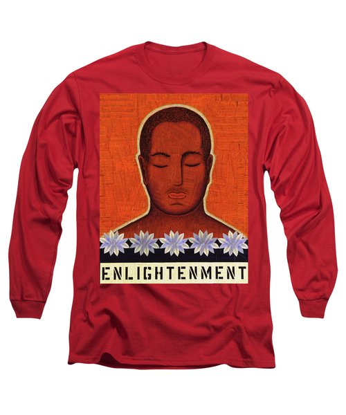 Long Sleeve T-Shirt featuring the mixed media Enlightenment by Gloria Rothrock