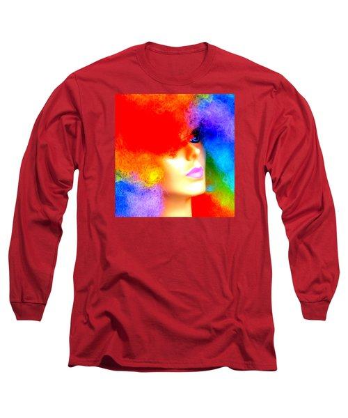 Eye Of The Rainbow Long Sleeve T-Shirt