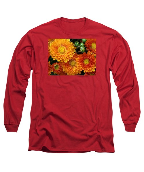 Fall Colors Long Sleeve T-Shirt by Bruce Bley