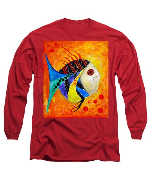 Fish Splatter II Long Sleeve T-Shirt