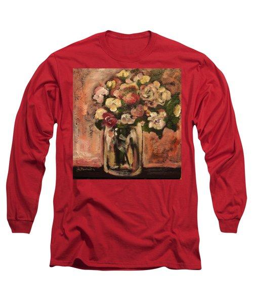Flowers For Mom Long Sleeve T-Shirt