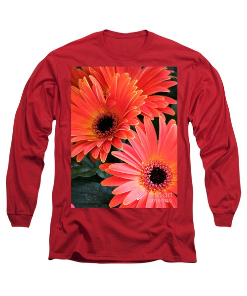 Gerbera Bliss Long Sleeve T-Shirt by Rory Sagner