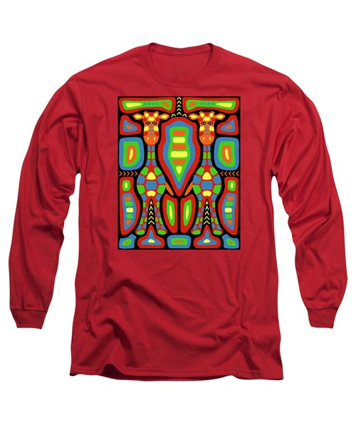 Giraffe Mola Long Sleeve T-Shirt