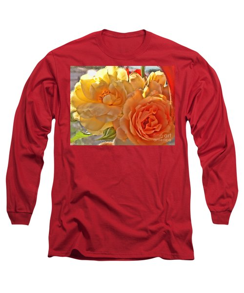 Long Sleeve T-Shirt featuring the photograph Golden Light by Debbie Portwood