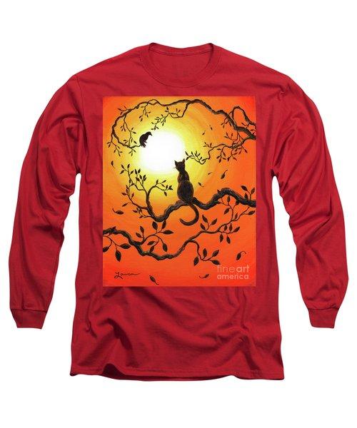 Halloween Sunset Long Sleeve T-Shirt