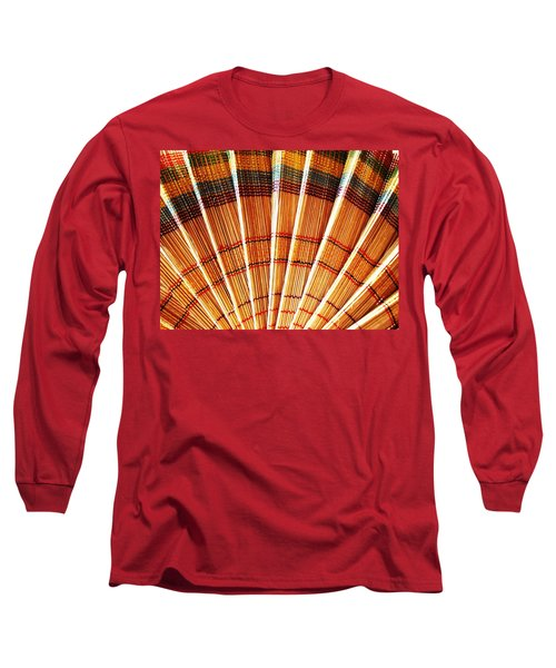 Jute Hand Fan Long Sleeve T-Shirt