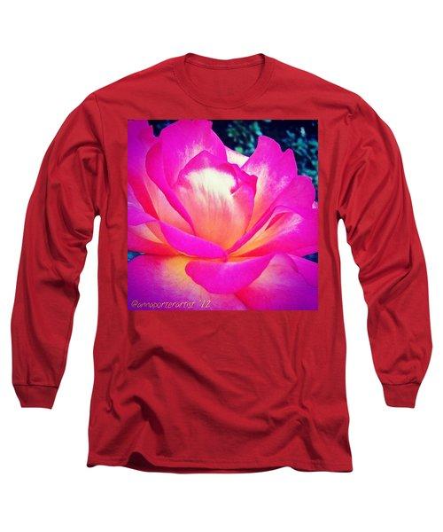 Lady Diana Rose Long Sleeve T-Shirt