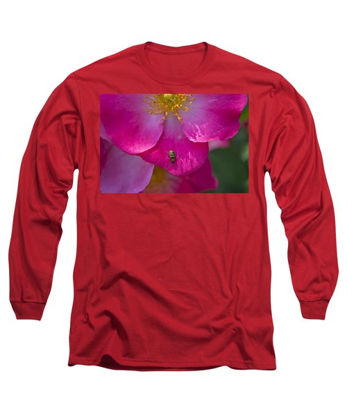 Magenta Long Sleeve T-Shirt