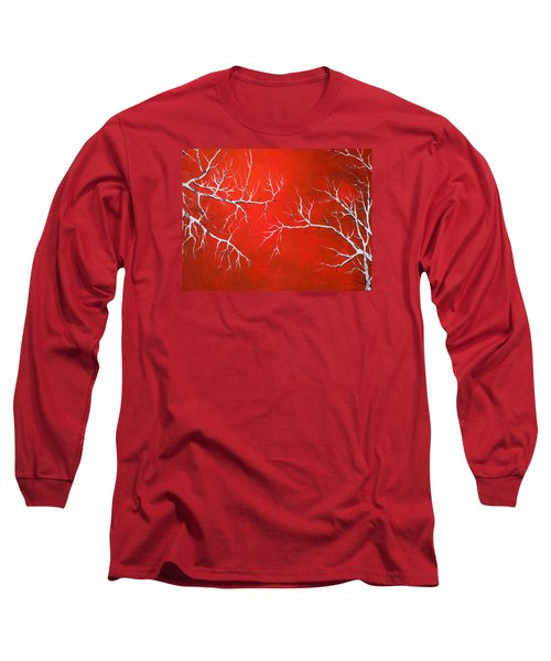 Long Sleeve T-Shirt featuring the painting Magical Night by Dan Whittemore