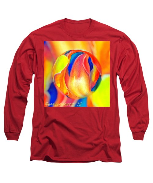 Magnolia Marble Long Sleeve T-Shirt