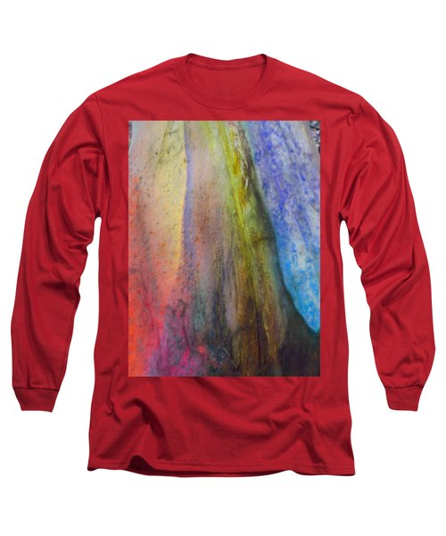 Long Sleeve T-Shirt featuring the digital art Move On by Richard Laeton