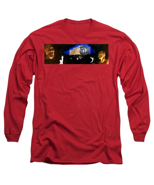 Mural - Night Long Sleeve T-Shirt