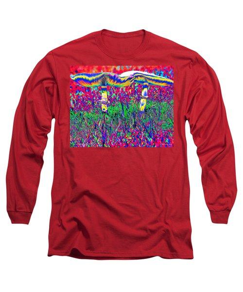 Mushrooms On Mushrooms Long Sleeve T-Shirt