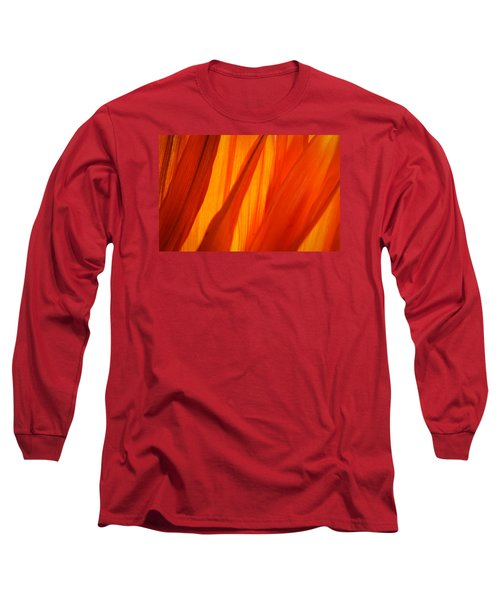 Orange Sunshine Long Sleeve T-Shirt
