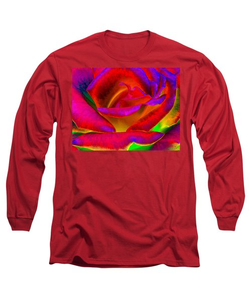 Painted Rose 1 Long Sleeve T-Shirt