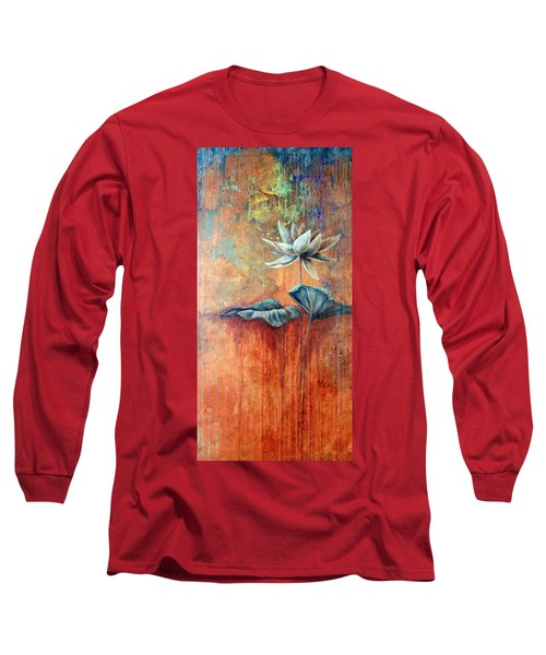 Patina Lotus Long Sleeve T-Shirt