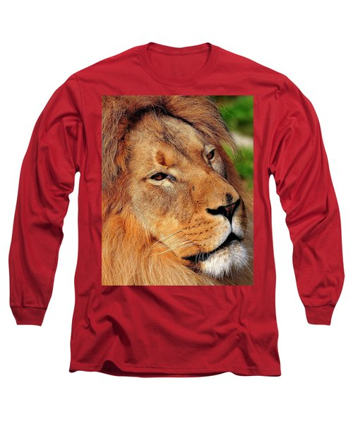 Portrait Of The King Long Sleeve T-Shirt