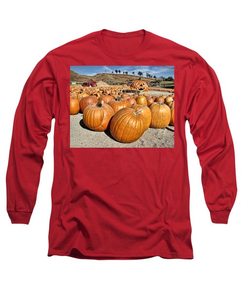 Pumpkin Patch 3 Long Sleeve T-Shirt