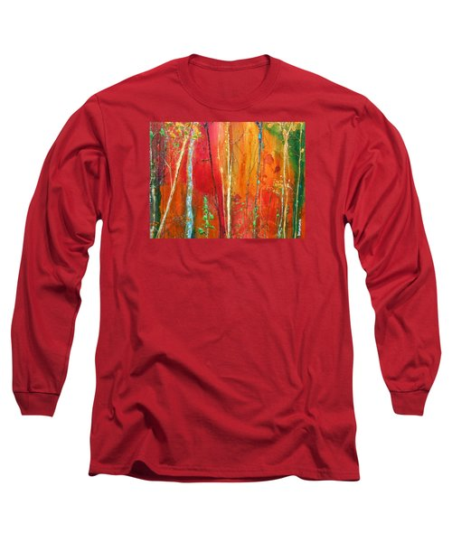 Quinacridone Hollow  Long Sleeve T-Shirt
