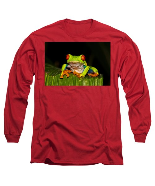 Red Eyes 1 Long Sleeve T-Shirt