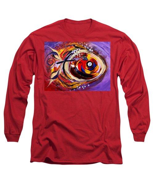 Scripture Fish Long Sleeve T-Shirt