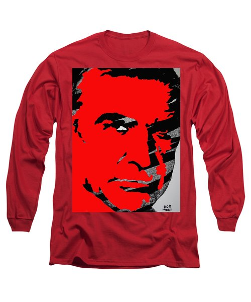 Sir Sean Connery Long Sleeve T-Shirt by Robert Margetts