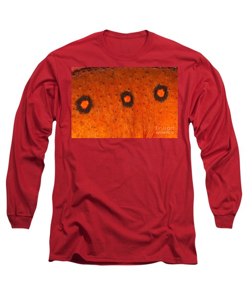 Skin Of Eastern Newt Long Sleeve T-Shirt by Ted Kinsman