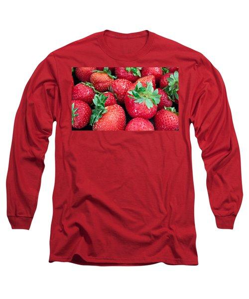 Strawberry Delight Long Sleeve T-Shirt