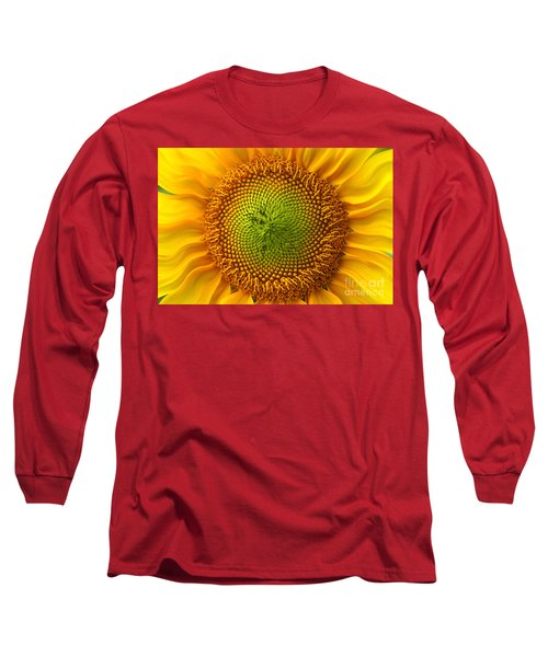Sunflower Fantasy Long Sleeve T-Shirt by Benanne Stiens