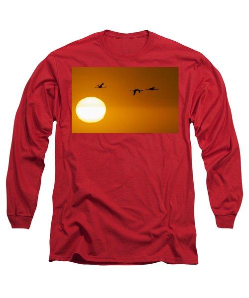 Sunset 3 Long Sleeve T-Shirt
