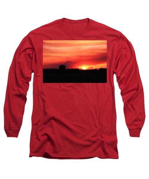 Sunset Long Sleeve T-Shirt by Johanna Bruwer