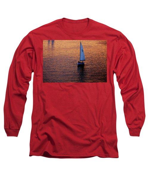 Sunset Sailing Long Sleeve T-Shirt