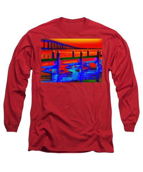 Tangerine Sound Long Sleeve T-Shirt