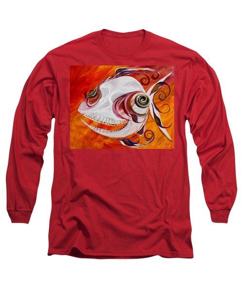T.b. Chupacabra Fish Long Sleeve T-Shirt