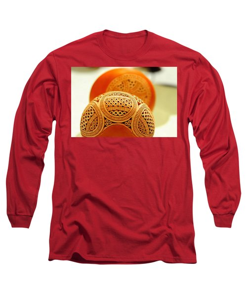 Terracotta Lampshade Long Sleeve T-Shirt