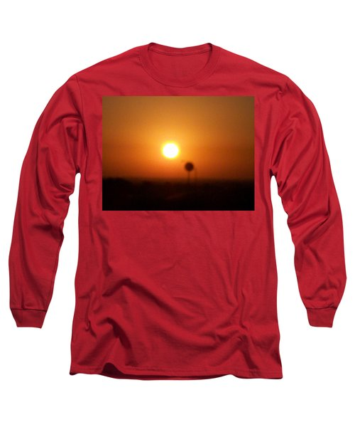 Texas Sunrise Long Sleeve T-Shirt