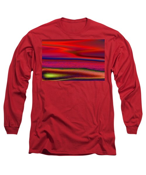 The Lonely Beach Long Sleeve T-Shirt