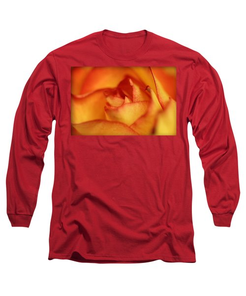 The Rose Long Sleeve T-Shirt by EricaMaxine  Price