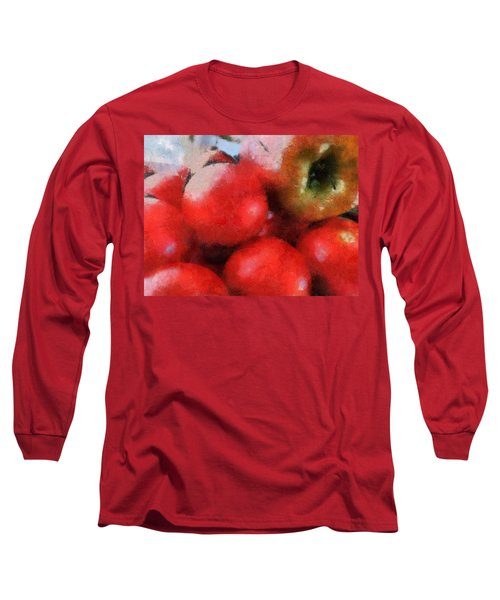 Tomatoes And Apple Long Sleeve T-Shirt