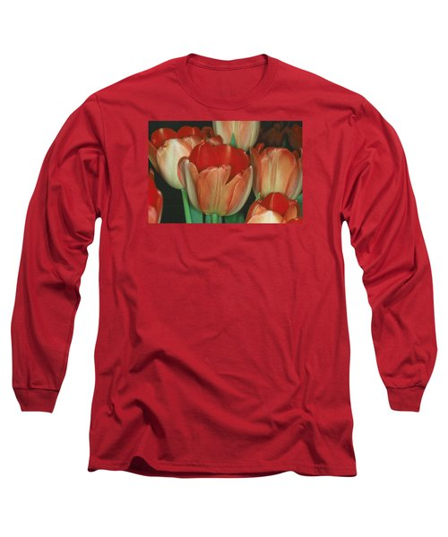 Tulip 1 Long Sleeve T-Shirt by Andy Shomock