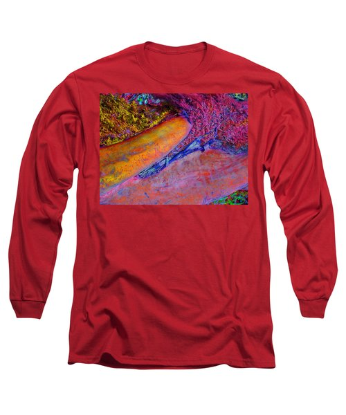 Long Sleeve T-Shirt featuring the digital art Waking Up by Richard Laeton